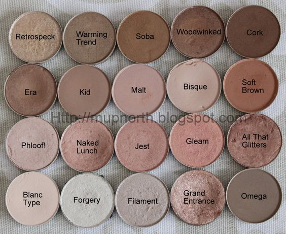 Mac neutral eyeshadow swatches mupnorth mac eyeshadow for Light neutral paint colors