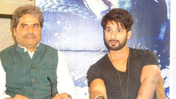 Podcast: BollyBrit® Meets Shahid Kapoor & Vishal Bhardwaj Promoting 'Haider' in London — BollyBrit