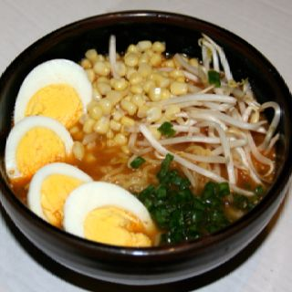 miso and sesame seafood miso noodle soup udon miso noodle soup miso ...