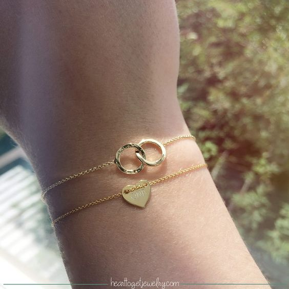 Gouden Heart to Get armband.  www.ajuweliers.nl