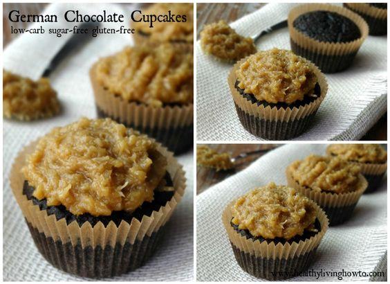German Chocolate Cupcakes for Tina1