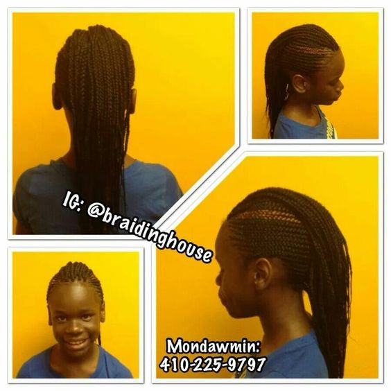Cornrows and individuals
