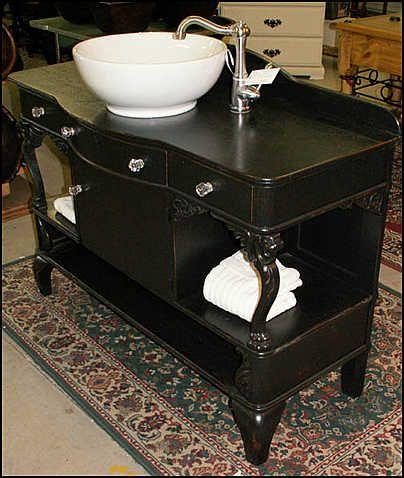 Antique bathroom vanities vessel sink and vessel sink - Antique bathroom sinks and vanities ...