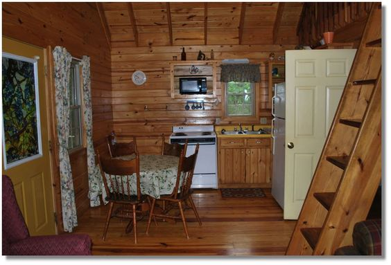 Small cabin kitchens google search log cabins and for Small cabin kitchens