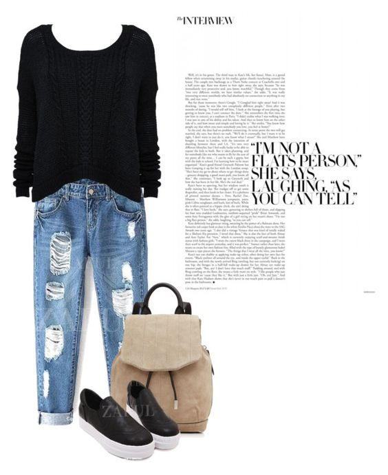"""""""Untitled #88"""" by andriatr ❤ liked on Polyvore featuring Alice + Olivia and rag & bone"""