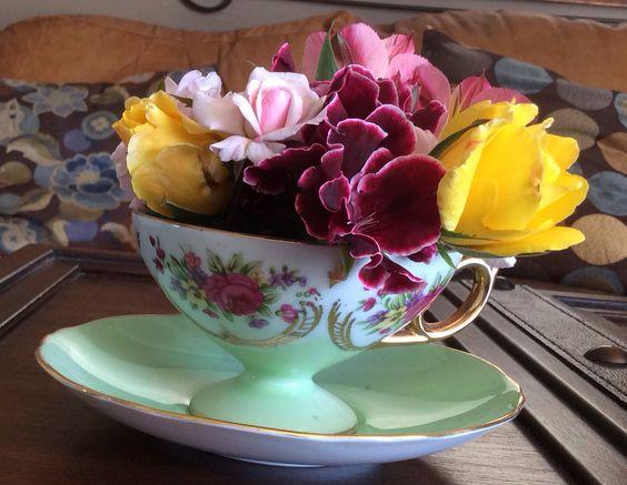 Tea Time Flowers