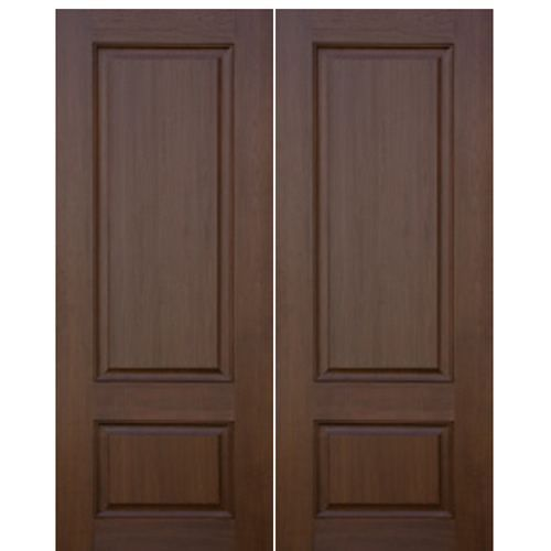 2 Panel Sq 2 Wood Entry Doors Fiberglass Entry Doors Entry Doors