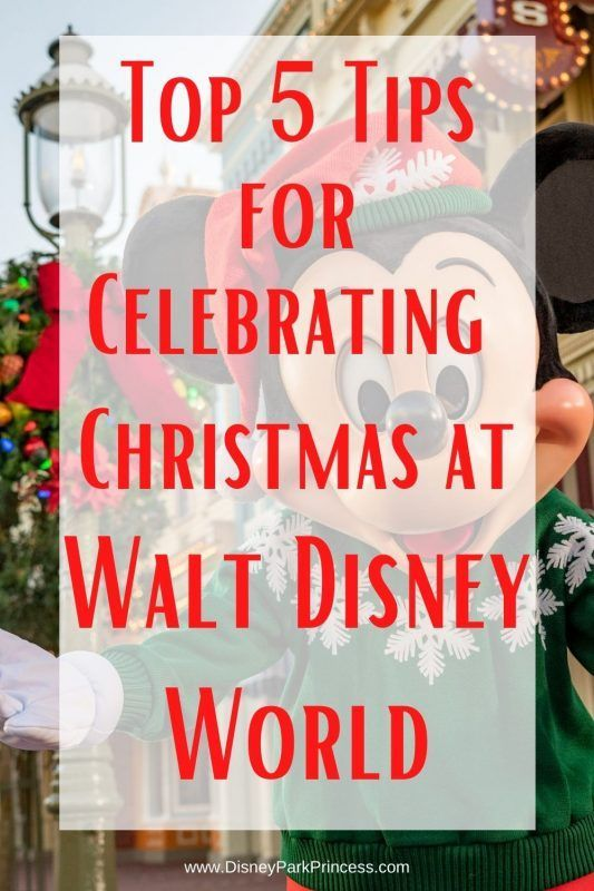 Top 5 Tips To Make The Most Of A Walt Disney World Vacation During Christmas Week Dis In 2020 Disney World Christmas Disney World Secrets Walt Disney World Vacations