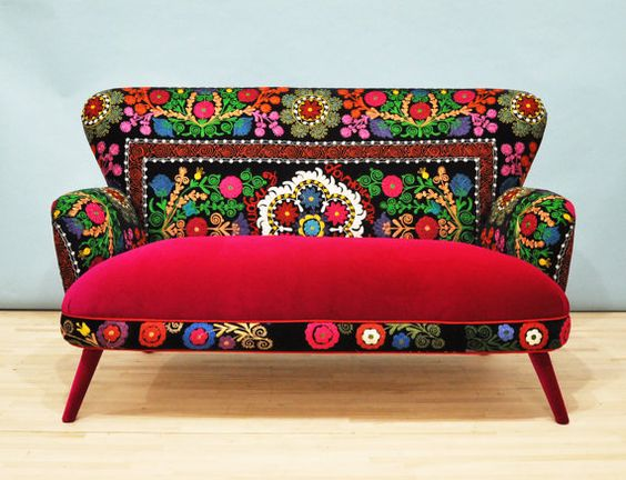 Patchwork sofas and patchwork sofa on pinterest for Patchwork couch