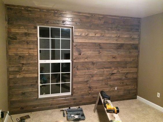 Originally I wanted a barn wood wall \ my hubby was going to go to - küchenfronten austauschen kosten