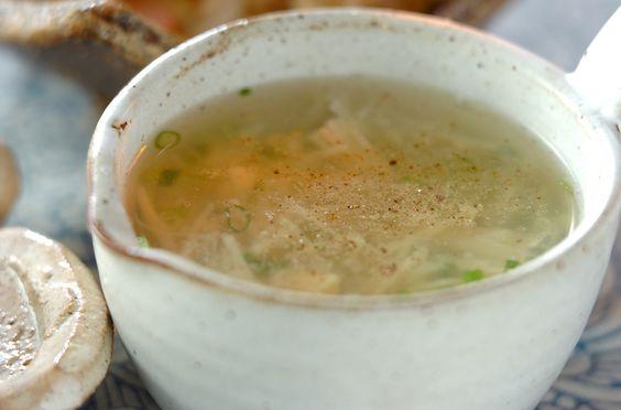 ジャガイモとホタテのスープのレシピ・作り方 - 簡単プロの料理レシピ | E・レシピ