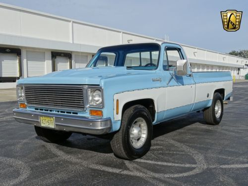 1974 Chevrolet C10 Custom Deluxe Pickup Truck Old 1970 S Trucks For Sale Vintage Classic And Old Trucks Oldtrucks Classic Trucks Old Trucks Chevy Trucks