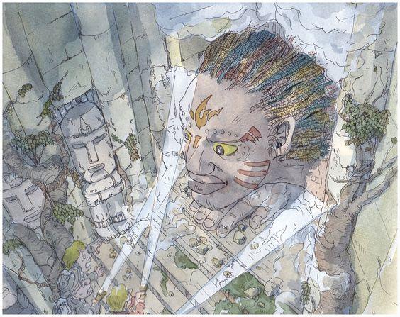 Ruin by NORIMATSUKeiichi.deviantart.com on @deviantART