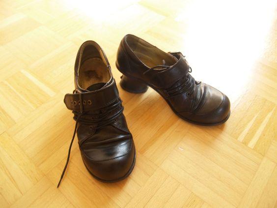 Tiggers Damenschuhe Gr. 37, schwarz, innen & außen Leder! | eBay