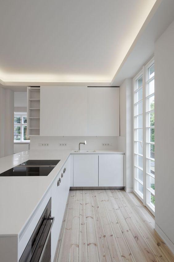 Abgehängte Decke Beleuchtung- ein Trend in der Deckenmontage - abgehängte decke wohnzimmer