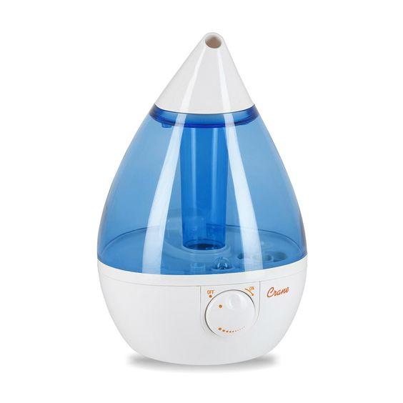 Crane Cool Mist Drop Shape Humidifier Baby Jack