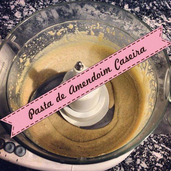 Pasta de amendoim caseira!