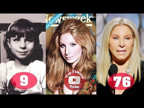 3 Barbra Streisand Transformation From 2 To 76 Years Old