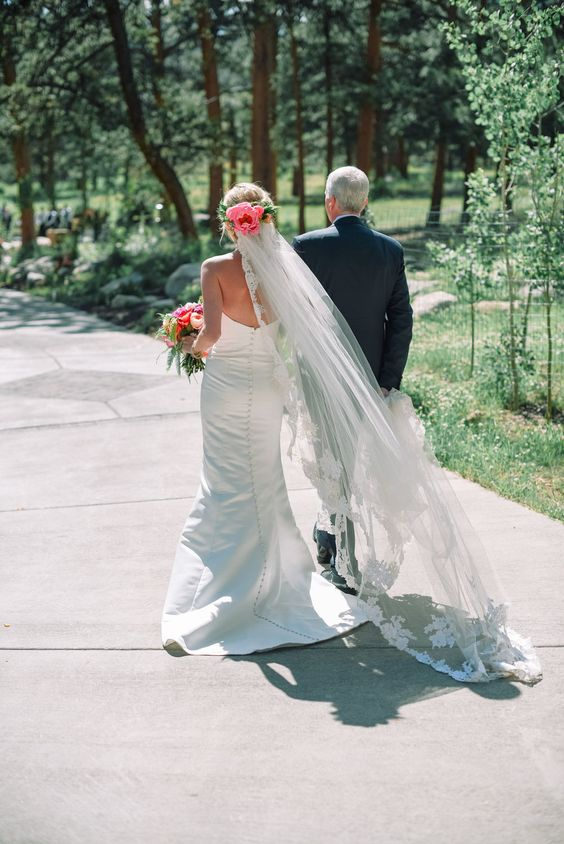 "Kellie + Rob | Della Terra Mountain Chateau | wedding gown ""Sarah"" by Robert…"