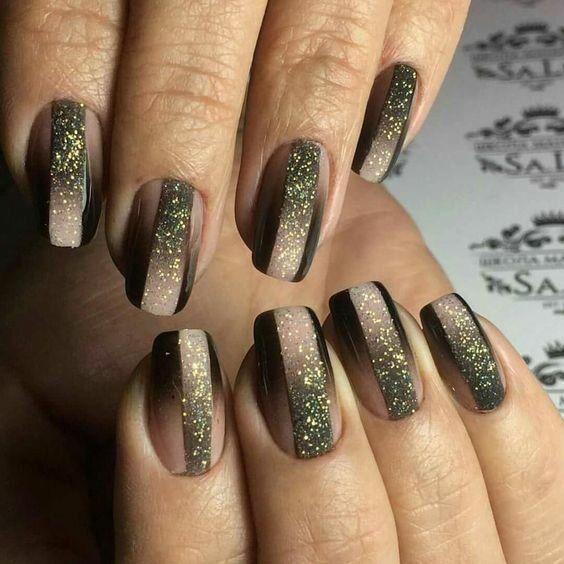 Невероятный маникюр с напылением фото идеи декора | Ногти, Градиентные ногти, Гелевые ногти