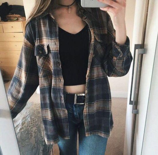 Flannel Shirt Tumblr