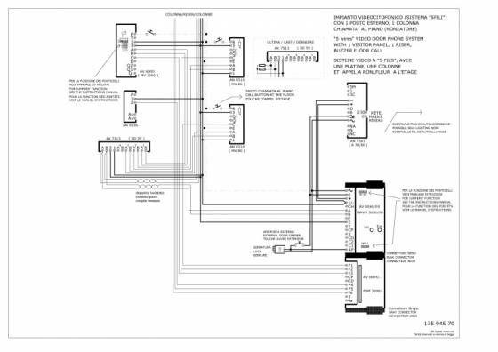 12 Urmet 1130 Wiring Diagram Diagram Electrical Wiring Electrical System