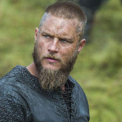 Travis Fimmel beard with Hairbond Etiquette beard products