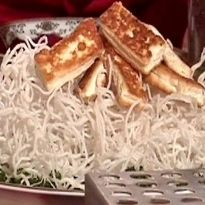 Pressed Tofu with Vermicelli