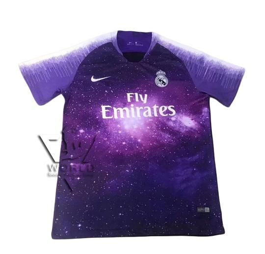 Real Madrid C F Football Club 4th Kit Ea Sports X Adidas Limited Edition Red 2018 19 Futbol Soccer Calcio Shirt Jersey Fussball Ca Camiseta Real Madrid Roupas