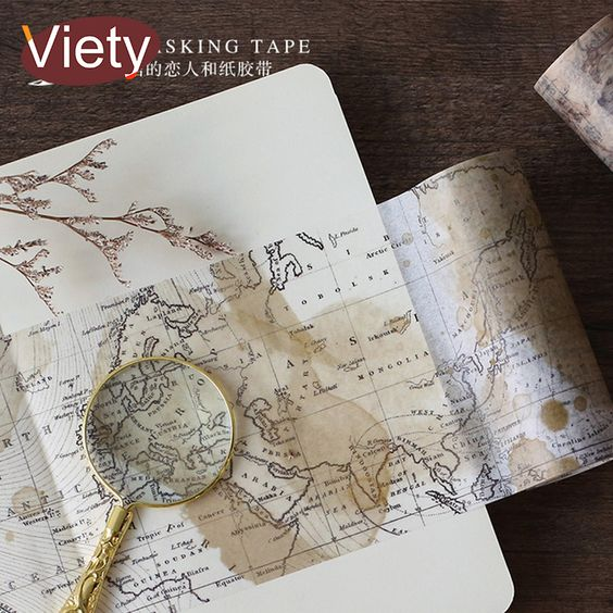 Cheap tape diy decoration, Buy Quality map washi tape directly from China washi tape Suppliers: 10cm*5m Vintage world map washi tape DIY decoration scrapbooking planner masking tape adhesive tape label sticker stationery