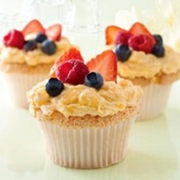 Angel Food-Lush Cupcakes