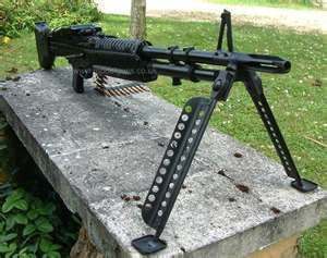 M60 MACHINE GUN...that I was qualified to carry.