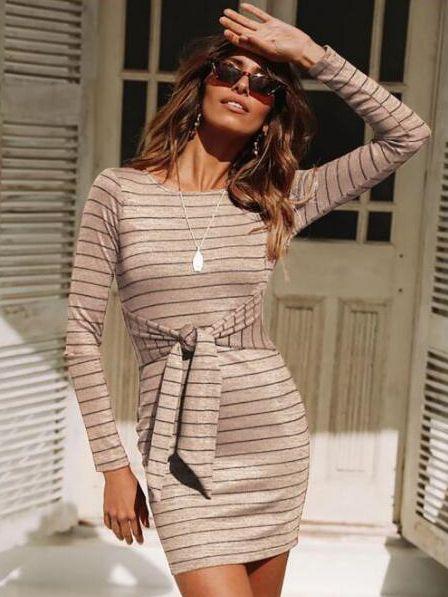 Stylish Dress Long Sleeves