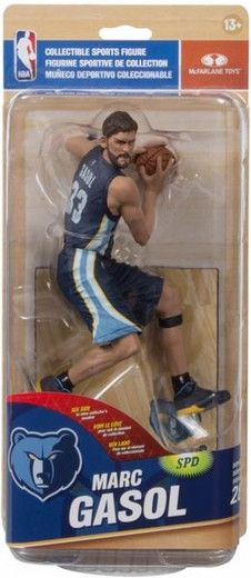 Marc Gasol (The Memphis Grizzlies) NBA 28 McFarlane NEW IN PACKAGE