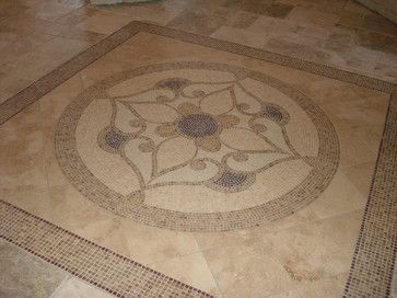 Foyers tile floor designs and tile on pinterest for Front foyer tile designs