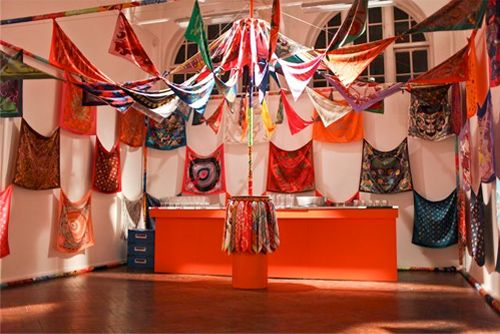Craft Show Display Units scarves | Pattern Pulp - London: Hermes On Display