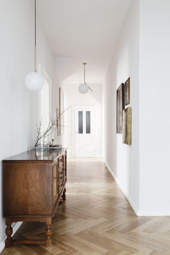 Fresh Rustic Hallway