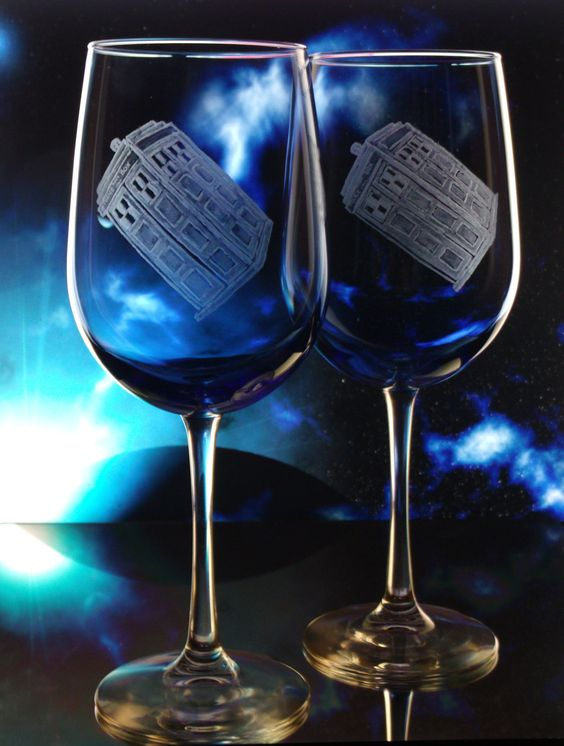 The Glassware ~ TARDIS