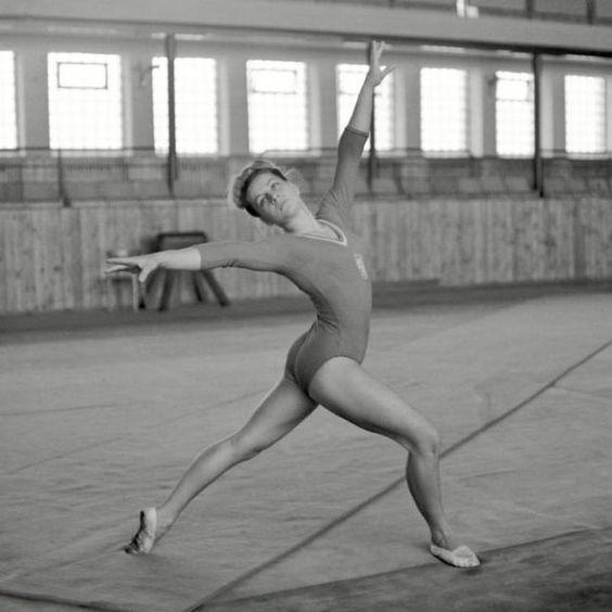 Vera Caslavska in 1964