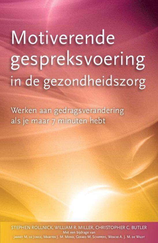 Een #boek over motiverende gespreksvoering - maar dan speciaal gericht op de situatie in de  zorg. Een aanrader voor onder andere fysiotherapeuten en artsen.