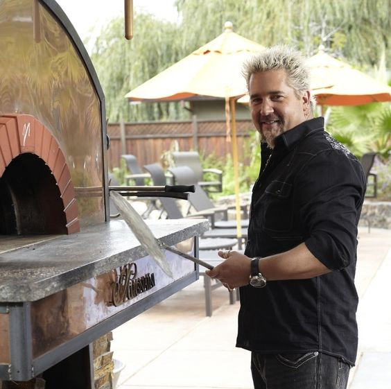 Guy 39 S Big Bite Pizza Oven Outdoor Kitchen Plans