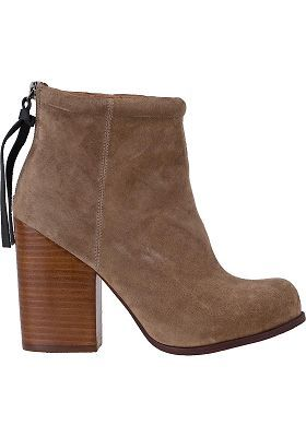 RUMBLE ANKLE BOOT TAUPE SUEDE $155