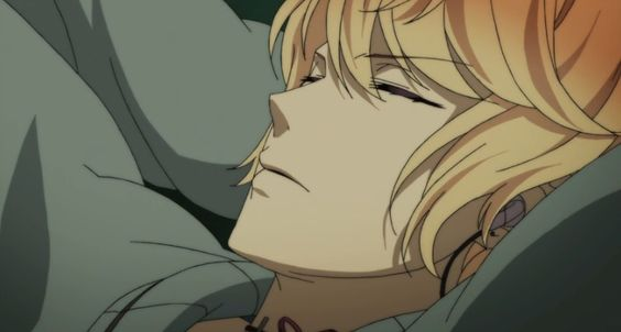 [DIABOLIK LOVERS] Shu's Sleeping peacefully urgh so HANDSOME!!!