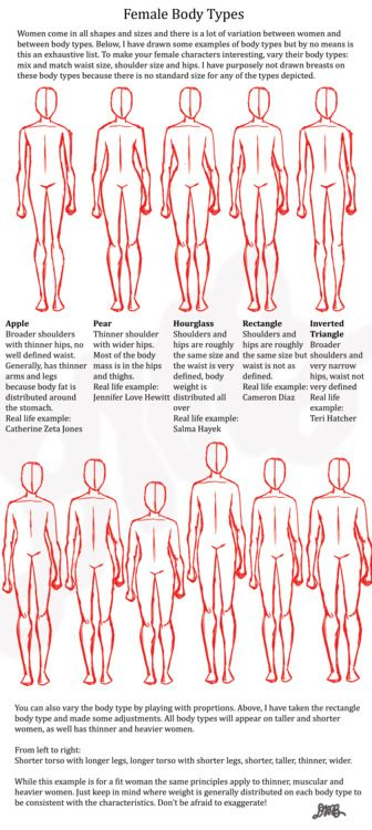 Confirm. agree body shape guide found