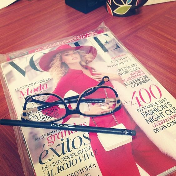 Ya llego @Vogue México I Love my Job!