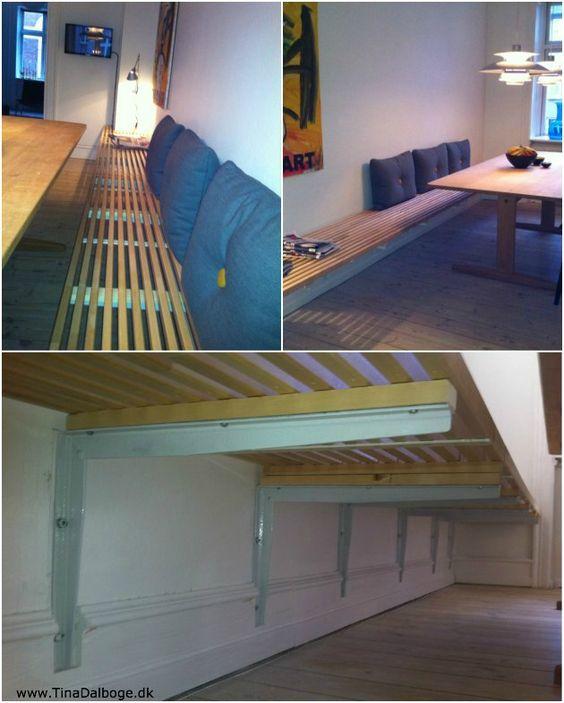 Esstisch mit Sitzbank holz bodenbelag stühle hängelampen Möbel - einzigartige wohnideen lebensbereich