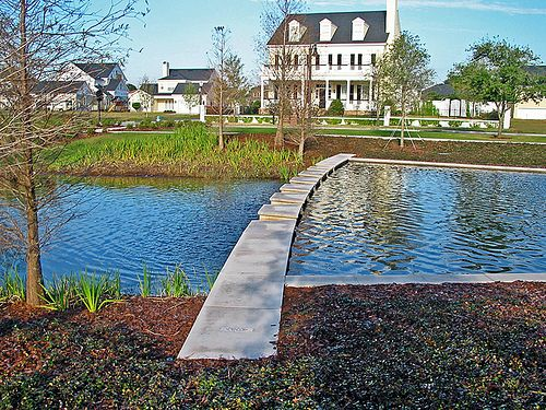Ponds parks and articles on pinterest for Design of stormwater ponds