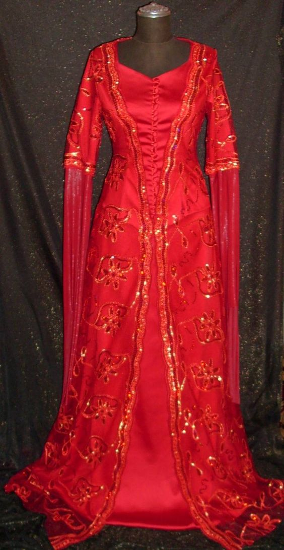 Traditional turkish wedding gown all of them turkish for Turkish wedding dresses online
