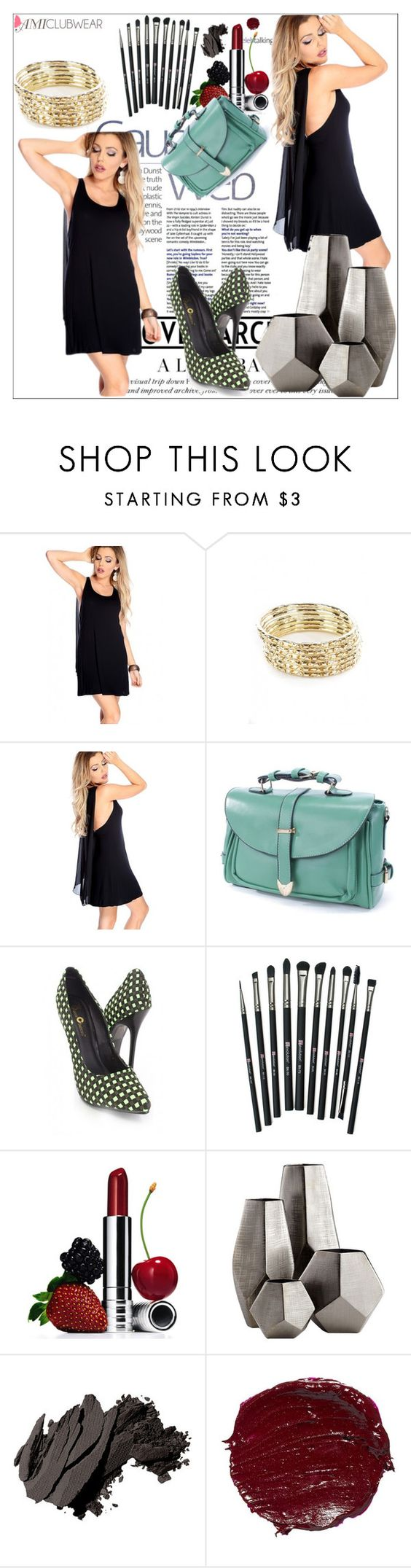 """""""Amiclubwear 30."""" by albinnaflower ❤ liked on Polyvore featuring Revolution, Clinique, Cyan Design, Bobbi Brown Cosmetics, women's clothing, women's fashion, women, female, woman and misses"""