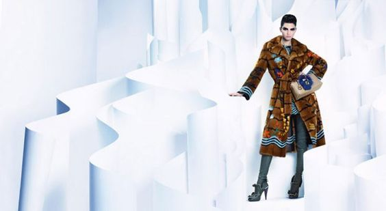 Kendall Jenner Lands Fendi Fall 2016 Ad Campaign